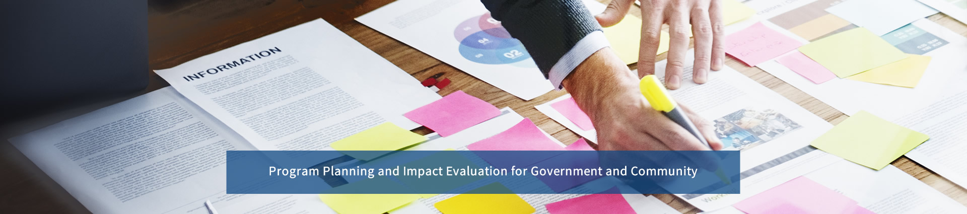 program planning and impact evaluation for government and community